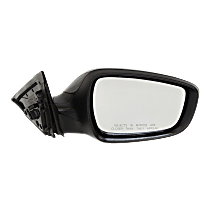 Mirror - Passenger Side, Power, Heated, Paintable, Models Without Panoramic Roof