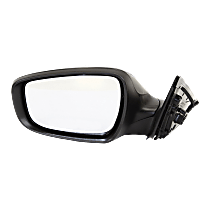 Mirror - Driver Side, Power, Heated, Paintable, With Turn Signal, Models Without Panoramic Roof and With Side Repeaters