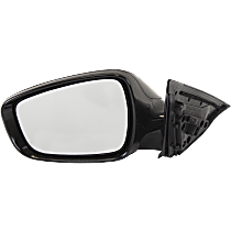 Mirror - Driver Side, Power, Heated, Paintable, Models Without Panoramic Roof and Side Repeaters