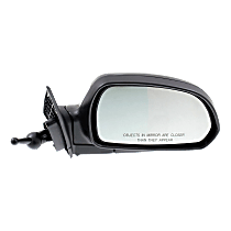 Mirror - Passenger Side, Manual Remote, Paintable, For Sedan