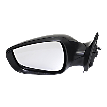 Mirror - Driver Side, Power, Heated, Folding, Paintable