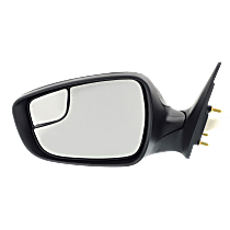 Mirror - Driver Side, Power, Heated, Folding, Paintable, With Turn Signal and Blind Spot Glass, Korea or US Built Models