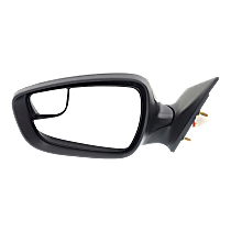 Mirror - Driver Side, Power, Heated, Folding, Paintable, With Blind Spot Glass, Korea or US Built Models