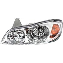 Driver Side Headlight, With bulb(s) - Models Without Touring Package