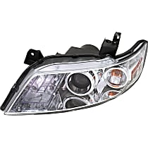 Driver Side HID/Xenon Headlight, With bulb(s) - w/o Control Unit