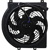 OE Replacement A/C Condenser Fan - Fits 6cyl, Passenger Side