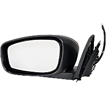 Mirror - Driver Side, Power, Folding, Paintable, Coupe Models Without Premium Package