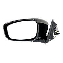 Mirror - Driver Side, Power, Folding, Heated, Folding, Paintable, Sedans Without Premium Package