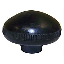 J0931356 Shift Knob - Black, Plastic, Direct Fit, Sold individually