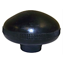 Crown J0931356 Shift Knob - Black, Plastic, Direct Fit, Sold individually