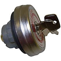 Crown J0934197 Gas Cap - Chrome, Locking, Direct Fit, Sold individually