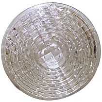 Crown J0991402 Parking Light Lens - Clear, Plastic, Direct Fit