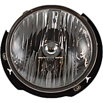 Headlight - Driver Side, With Bulb(s), CAPA Certified