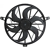 Radiator Fan - Fits 3.7L/4.0L/4.7L, w/o Tow Pckg., Excludes Fan Shroud
