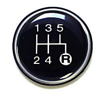 J3241073 Shift Knob - Direct Fit, Sold individually