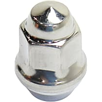 J4006956 Lug Nut - Polished, Stainless Steel, Direct Fit, Sold individually