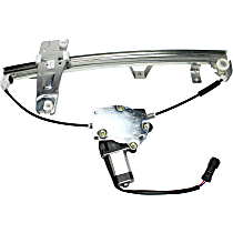 Front, Passenger Side Power Window Regulator, With Motor - From 3-9-00
