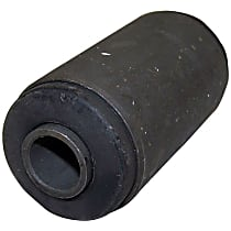 Leaf Spring Bushing - Black, Metal and Rubber, Direct Fit, Sold individually