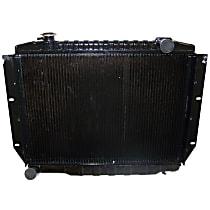 Aluminum Core Plastic Tank Radiator, 16-7/8 x 24-3/8 Core Size