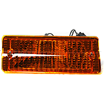 J5460106 Passenger Side Parking Light, Without bulb(s)
