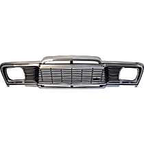 Driver and Passenger Side Grille, Chrome
