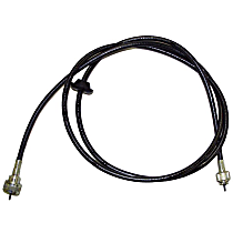 Crown J5752281 Speedometer Cable - Metal and Rubber, Direct Fit, Sold individually