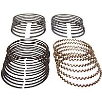 Crown J8121684 Piston Ring Set - Direct Fit, Set of 6