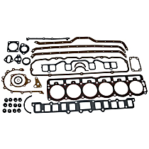 Crown J8124691 Engine Gasket Set - Overhaul, Direct Fit, Set