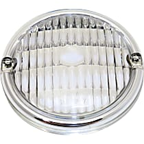 Crown J8127449 Parking Light Lens - Clear, Plastic, Direct Fit