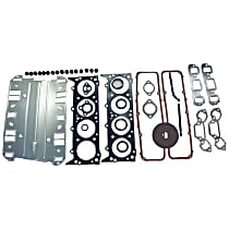 Crown J8128191 Engine Gasket Set - Cylinder head, Direct Fit, Set