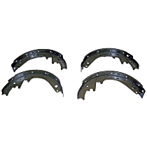 Crown J8130067 Brake Shoe Set - Direct Fit, 2-Wheel Set Rear