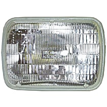 Driver or Passenger Side Headlight, With bulb(s)