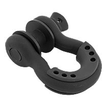 Bumper D-Ring - Black, with Isolators