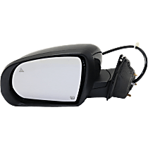 Mirror - Driver Side, Power, Heated, Power Folding, Paintable, With Turn Signal, Blind Spot Function and Puddle Lamp