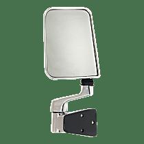Mirror Manual Folding - Driver Side, Chrome
