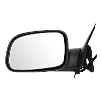Mirror Manual Folding Non-Heated - Driver Side, Textured Black