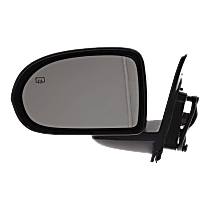 Mirror - Driver Side, Power, Heated, Folding, Paintable, Type 1