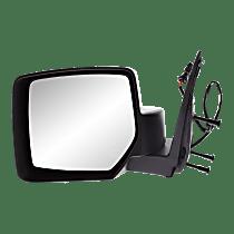 Mirror - Driver Side, Heated, Textured Black