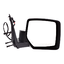 Mirror - Passenger Side, Heated, Textured Black