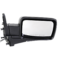 Mirror - Passenger Side, Power, Heated, Folding, Textured Black, With Memory