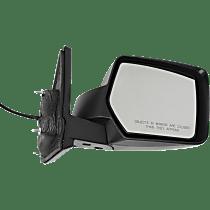 Mirror - Passenger Side, Power, Heated, Folding, Textured Black