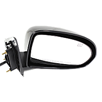 Mirror - Passenger Side, Power, Heated, Folding, Paintable, Type 2