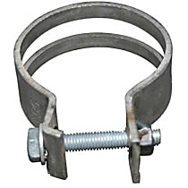 1621401700 Exhaust Clamp for Exhaust Pipe to Support Bracket (58.5 mm) - Replaces OE Number 999-511-087-00