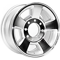 ALY02187U20N Jante Wheel, Aluminum, Silver, 17 in. x 8 in., Sold Individually