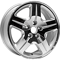 ALY02287U10N Jante Wheel, Aluminum, Silver, 17 in. x 6.5 in., Sold Individually
