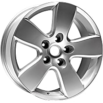 ALY02363U20N Jante Wheel, Aluminum, Silver, 20 in. x 8 in., Sold Individually