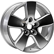 ALY02363U90N Jante Wheel, Aluminum, Silver, 20 in. x 8 in., Sold Individually