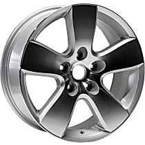 Jante ALY02363U90N Wheel, Aluminum, Silver, 20 in. x 8 in., Sold Individually