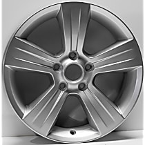 ALY02380U20N Jante Wheel, Aluminum, Silver, 17 in. x 6.5 in., Sold Individually