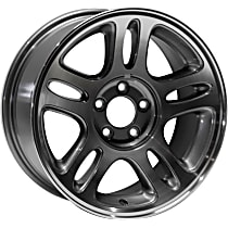 ALY03174U30N Jante Wheel, Aluminum, Charcoal, 17 in. x 8 in., Sold Individually